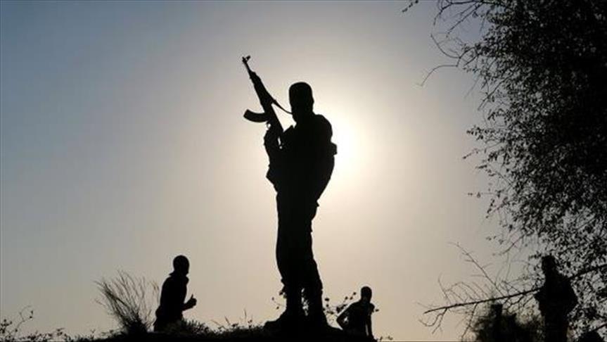 مسلح ليبي مجهول الهوية