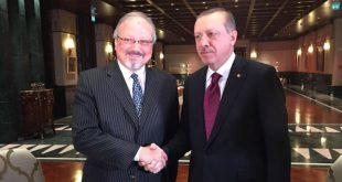 صورة سابقة تجمع أردوغان وخاشقجي