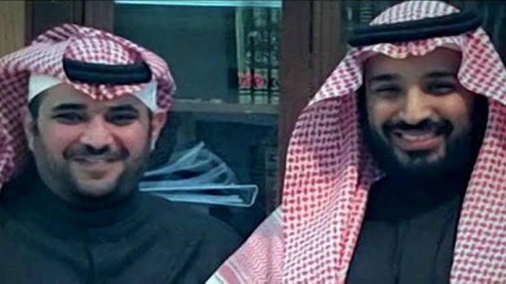محمد بن سلمان ومستشاره سعود القحطاني