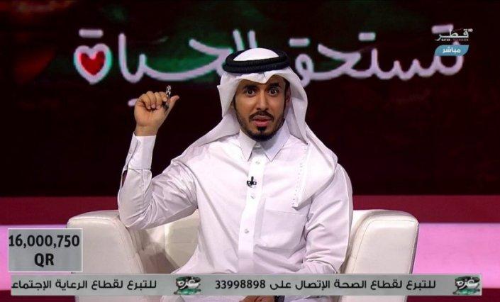 Photo of التلفزيون القطري يجمع 16 مليون ريال تبرعات لغزة خلال ساعة فقط