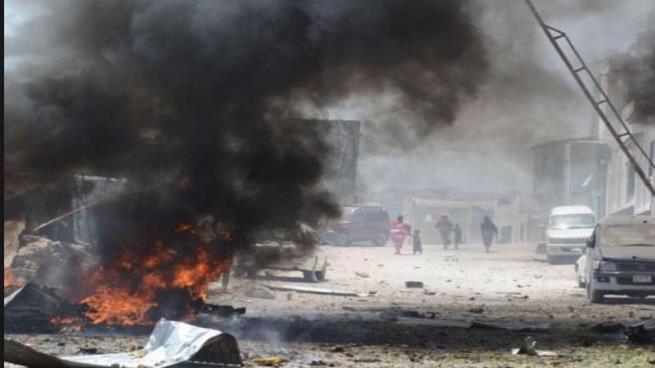 صورة قتلى في تفجير مفخخة بمقديشو