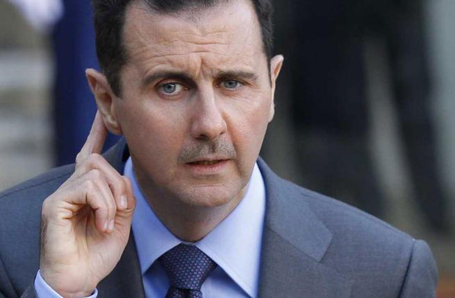 رئيس النظام السوري بشار الأسد