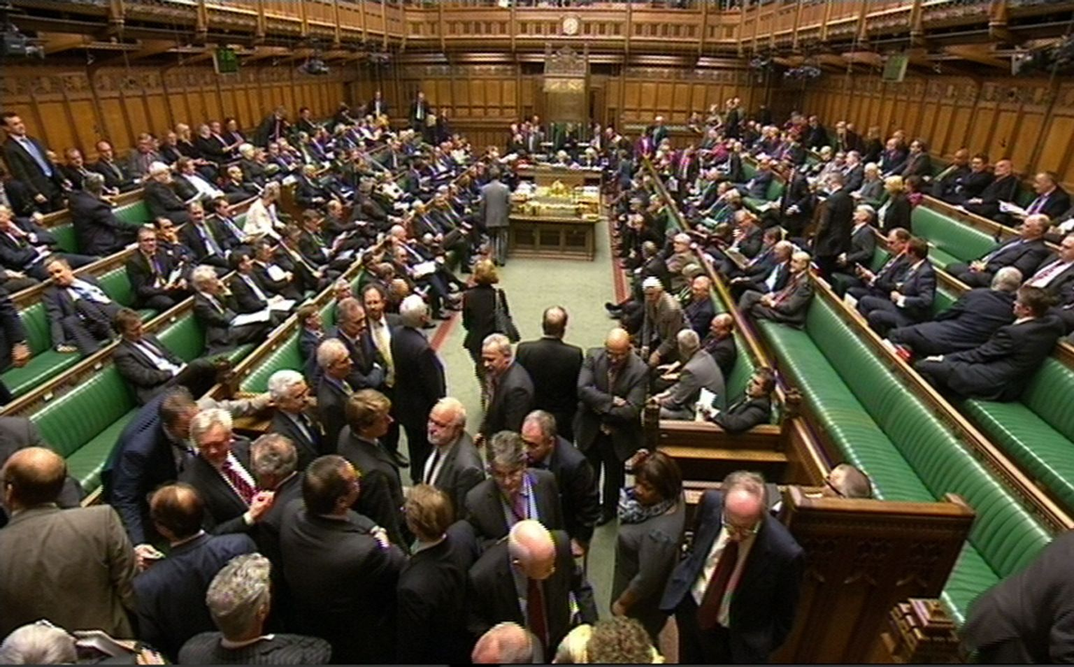 جلسة البرلمان البريطاني