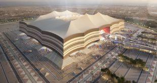 مخطط أحد ملاعب قطر لاستضافة كأس العالم 2022