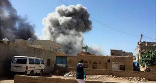 غارات جوية على مناطق في اليمن