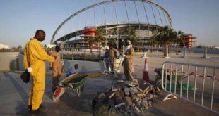 أعمال بناء مستمرة في ملاعب قطر التي ستستضيف كأس العالم 2022