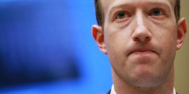 المؤسس والرئيس التنفيذي لشركة فيسبوك مارك زوكربيرج