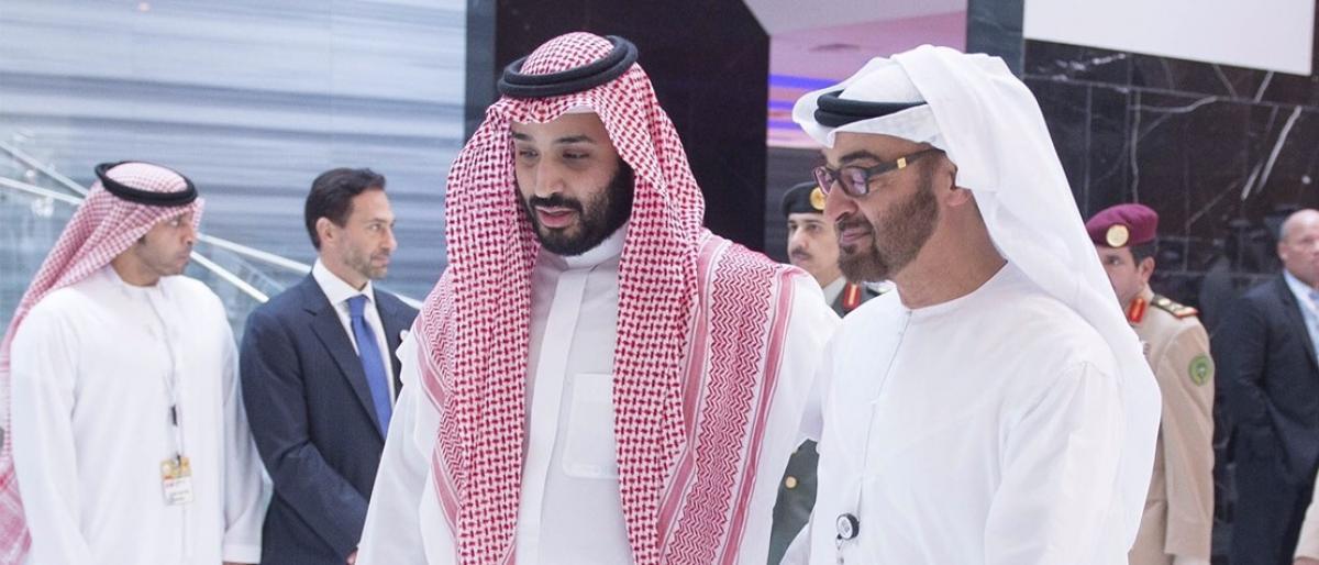 وليي العهد السعودي والإماراتي
