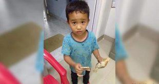 ديريك لا لشانيما طفل هندي نال احترام العالم