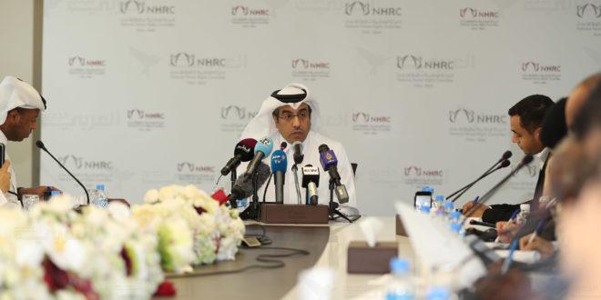 الحقوقي القطري البارز علي بن صميخ المري رئيس اللجنة الوطنية لحقوق الإنسان