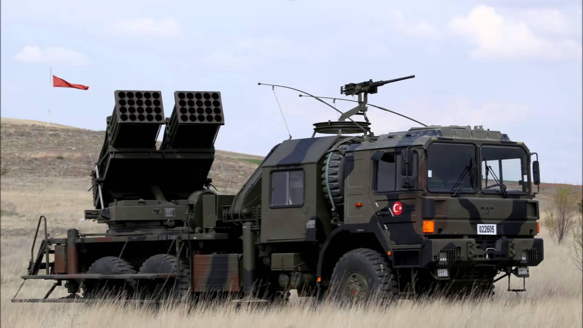 جانب من الصناعات العسكرية التركية