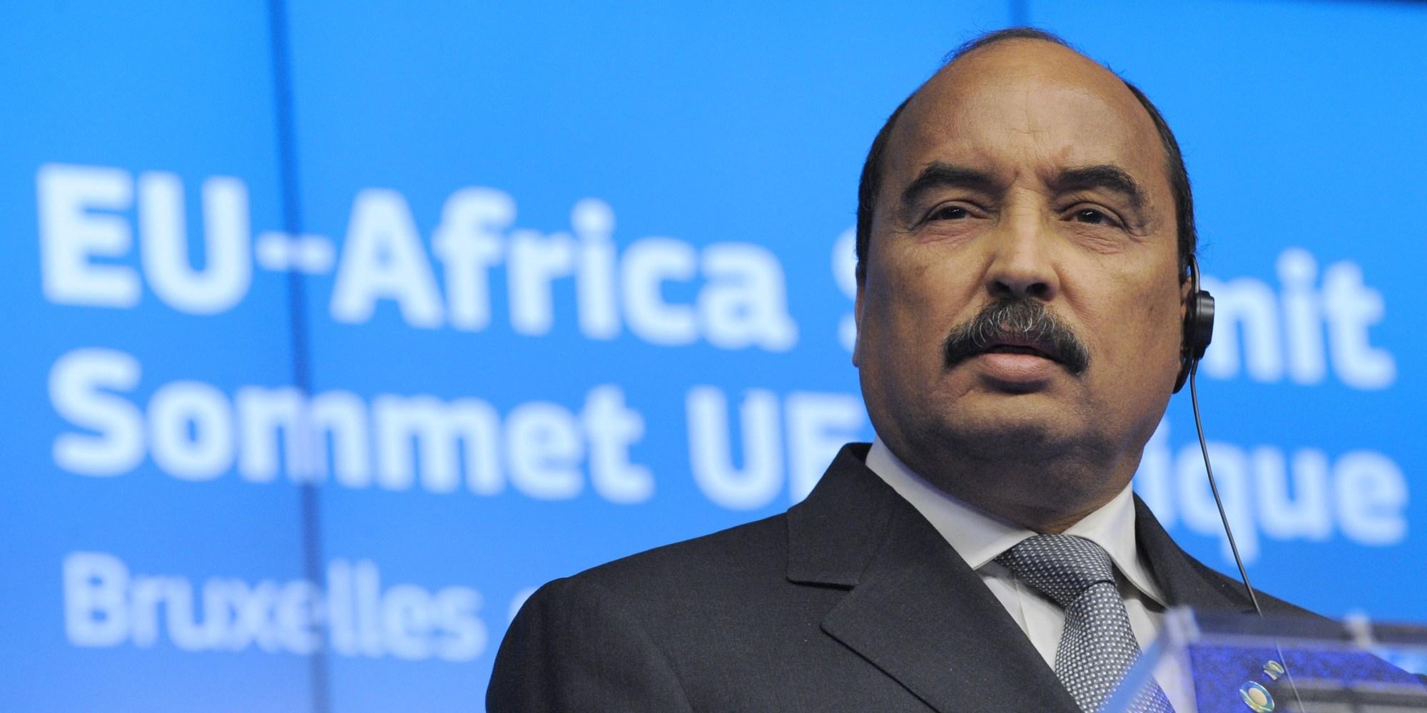 رئيس نظام موريتانيا محمد ولد عبد العزيز
