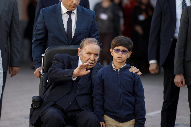 الرئيس الجزائري المستقيل عبدالعزيز بوتفليقة
