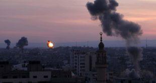 قصف إسرائيلي على قطاع غزة (أرشيف)