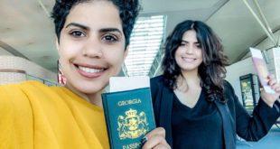 الشقيقتان السعوديتان مها (28 عامًا) ووفاء السبيعي (25 عامًا)