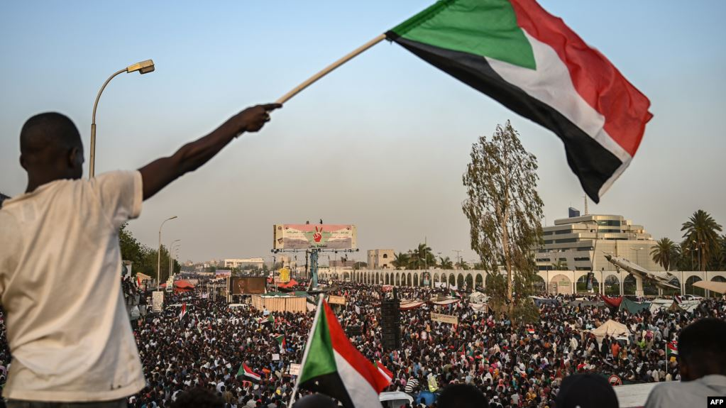 تظاهرات ضد نظام الحكم في السودان