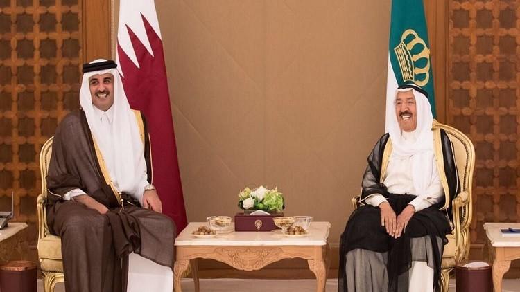 أمير الكويت يتوسط في الأزمة الخليجية
