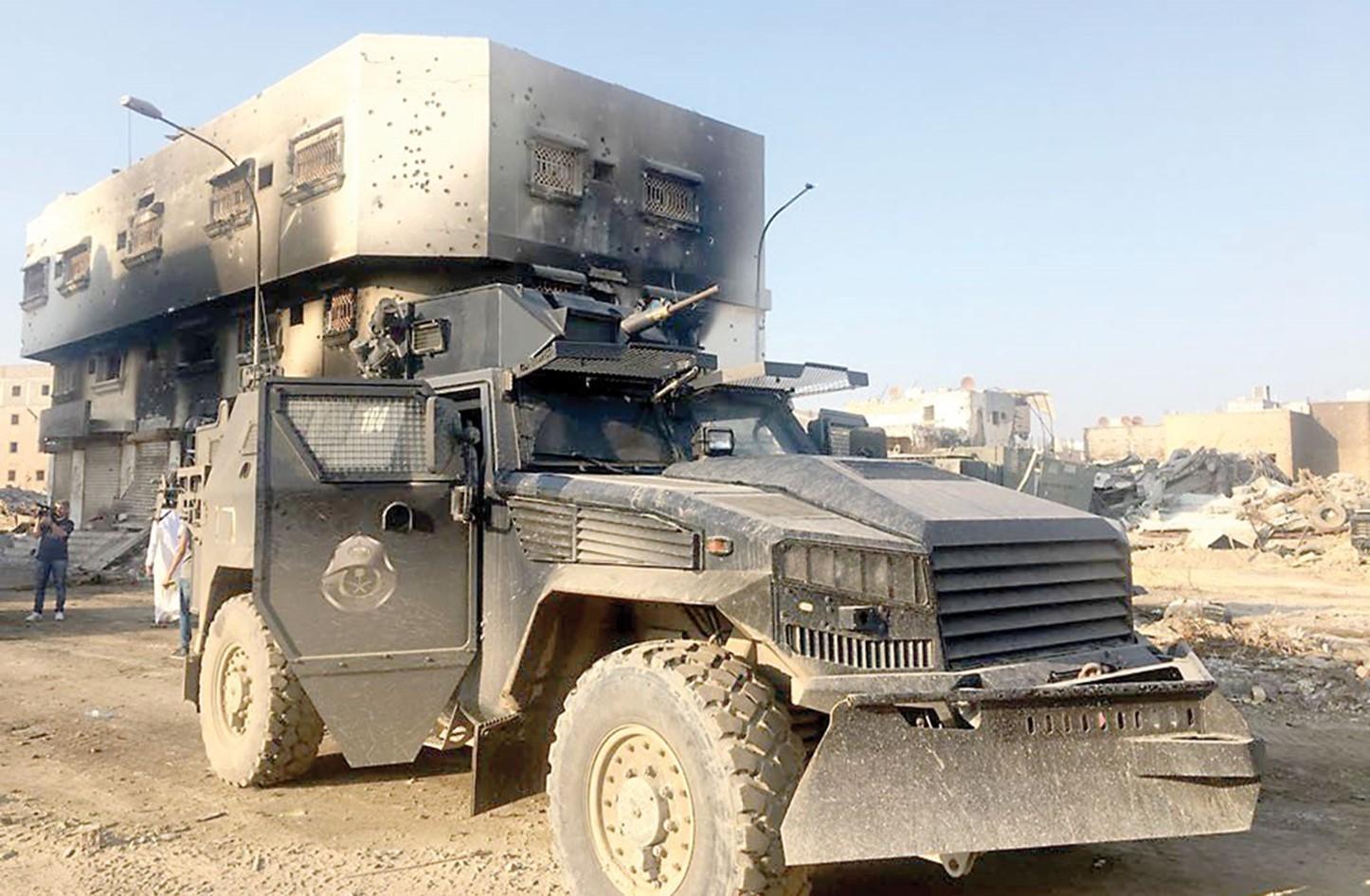 قوات من الأمن السعودي
