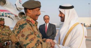 زيارة رئيس المجلس العسكري عبدالفتاح البرهان للإمارات