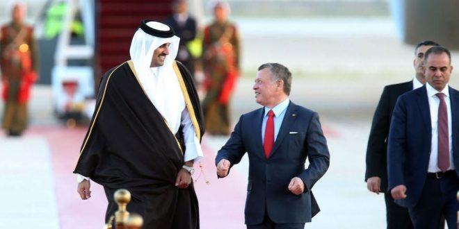 العلاقات بين قطر والأردن شهدت فتورًا بعد الأزمة الخليجية