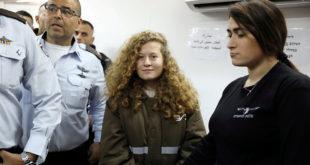 الشابة الفلسطينية عهد التميمي