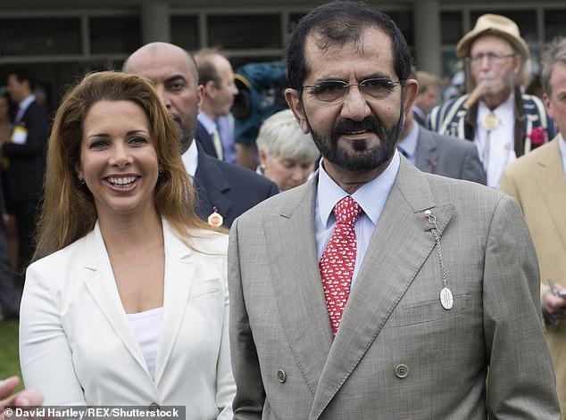 هروب زوجة محمد بن راشد