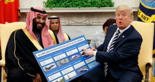 ترامب تحدث كثيرًا عن رغبته في أموال السعودية