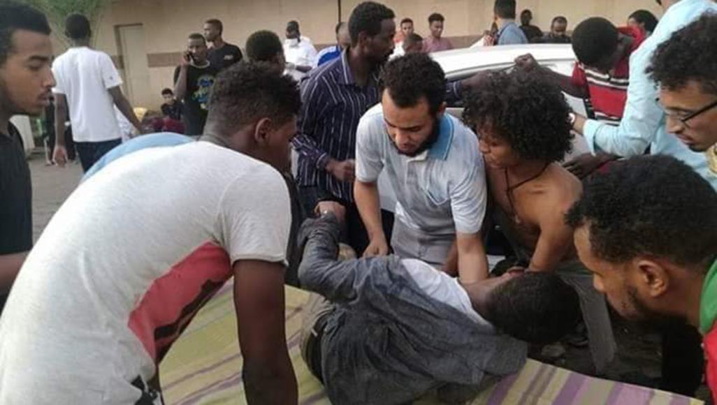 فض قوات الأمن في السودان لاعتصام القيادة العامة أدى لسقوط قتلى وجرحى