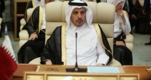 رئيس وزراء قطر وزير داخليتها الشيخ عبدالله بن ناصر بن خليفة آل ثاني