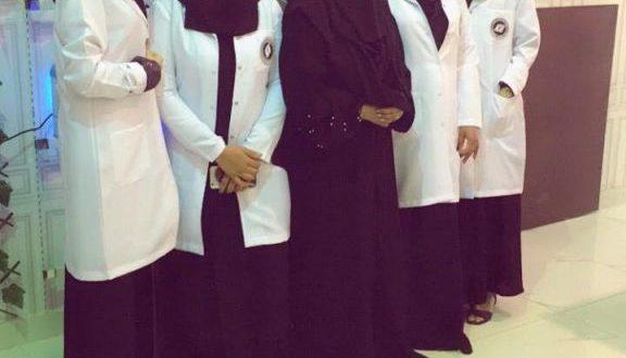 عاملات في أول مغسلة ملابس في الرياض تعمل بكوارد نسائية سعودية