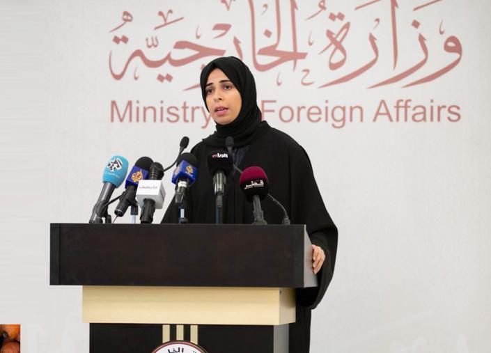 المتحدثة الرسمية باسم وزارة الخارجية القطرية لولوة الخاطر تعلق على أنباء استدعاء الخرطوم سفيرها من الدوحة