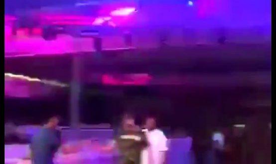 لقطة من فيديو انتشر على مواقع التواصل الاجتماعي لأول ملهى ليلي في السعودية