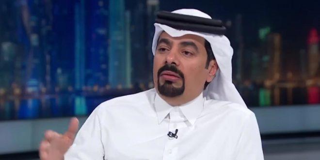 الكاتب القطري عبدالله العذبة رئيس تحرير صحيفة العرب القطرية
