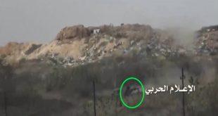 صورة نشرتها جماعة الحوثي للسيطرة على مواقع للجيش السعودي في جازان