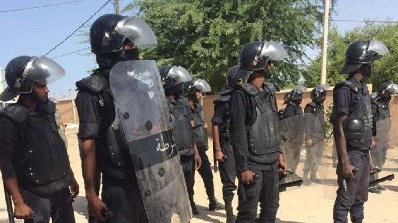 قوات شرطة في موريتانيا