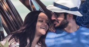 نجمة البوب الأمريكية ريهانا والملياردير السعودي حسن جميل
