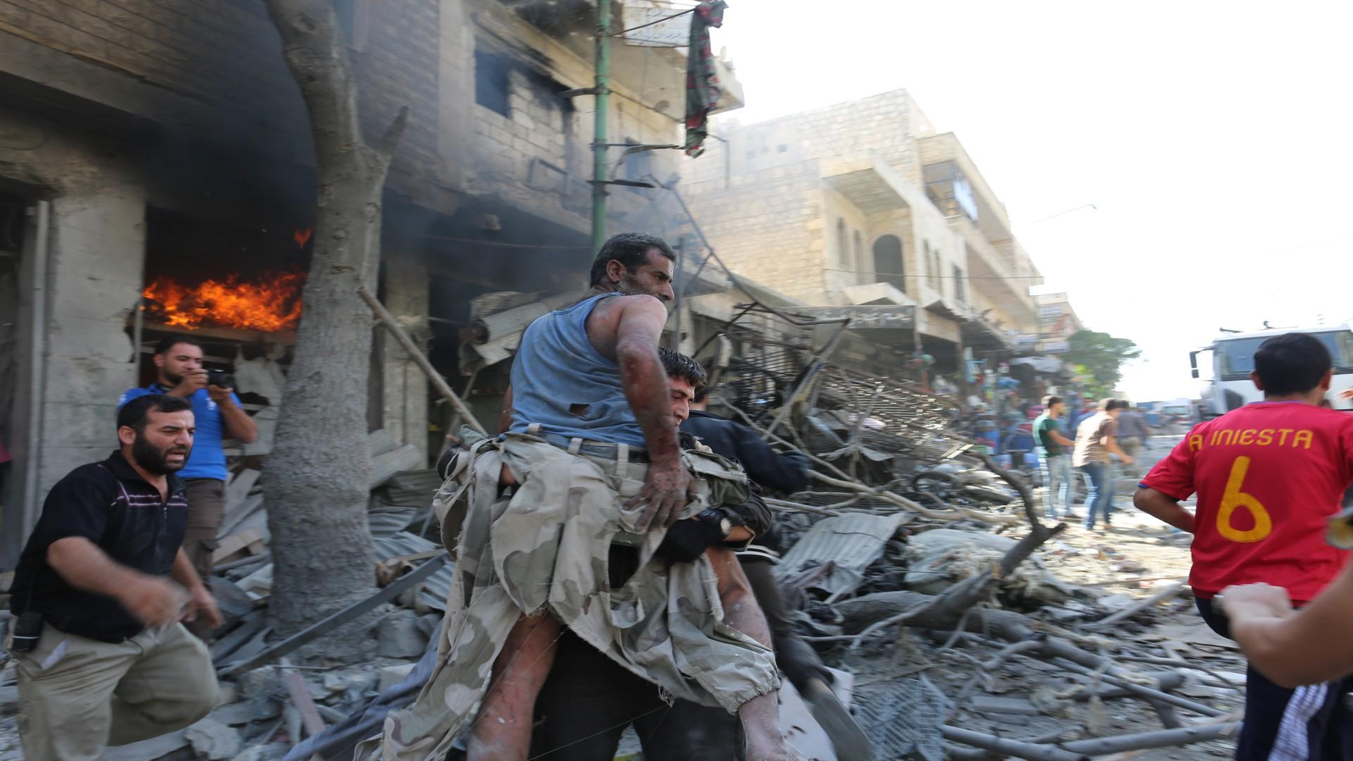 Photo of النظام السوري يرتكب مجزرة في هجوم على مدرسة في إدلب
