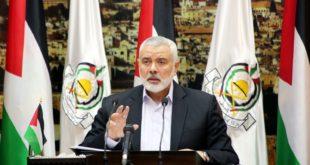 رئيس حركة حماس الفلسطينية إسماعيل هنية
