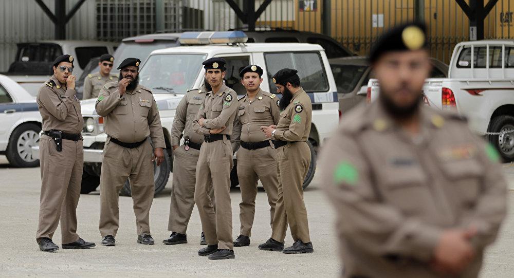 قوات أمنية سعودية