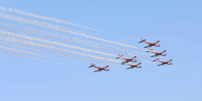 تصادم طائرتي التدريب كان ضمن تدريب تجريه وزارة الدفاع القطرية