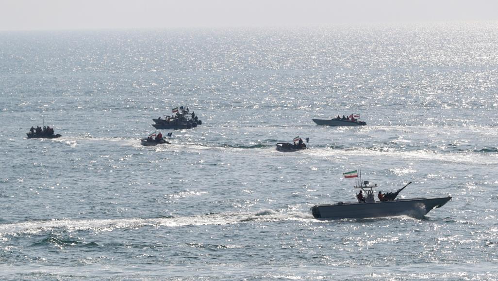صورة قاعدة عسكرية إيرانية جديدة في المحيط الهندي