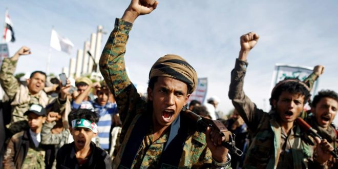 عناصر من جماعة الحوثي في اليمن