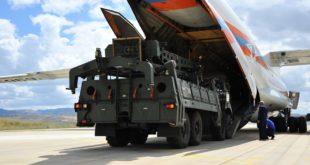 جانب من استلام تركيا الأجزاء الأولى من منظومة S400 الروسية