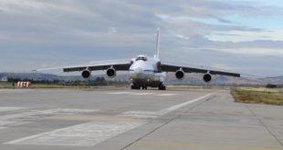 طائرة شحن تحمل الأجزاء الثانية من منظومة S400 الروسية وصلت أنقرة