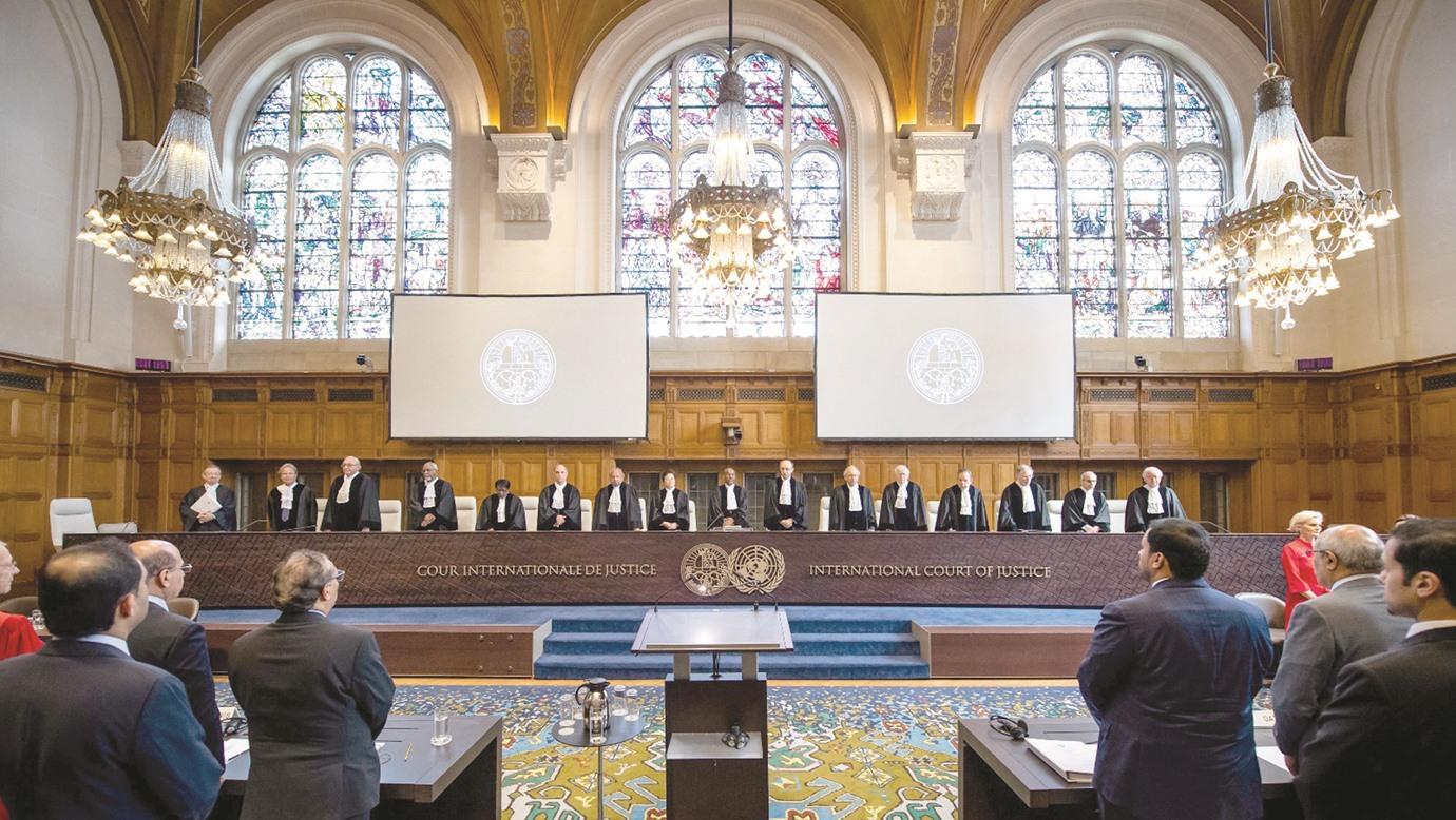 صورة قطر تقدّم مذكرتها الأخيرة لمحكمة العدل الدولية بشأن ادعاءات دول الحصار
