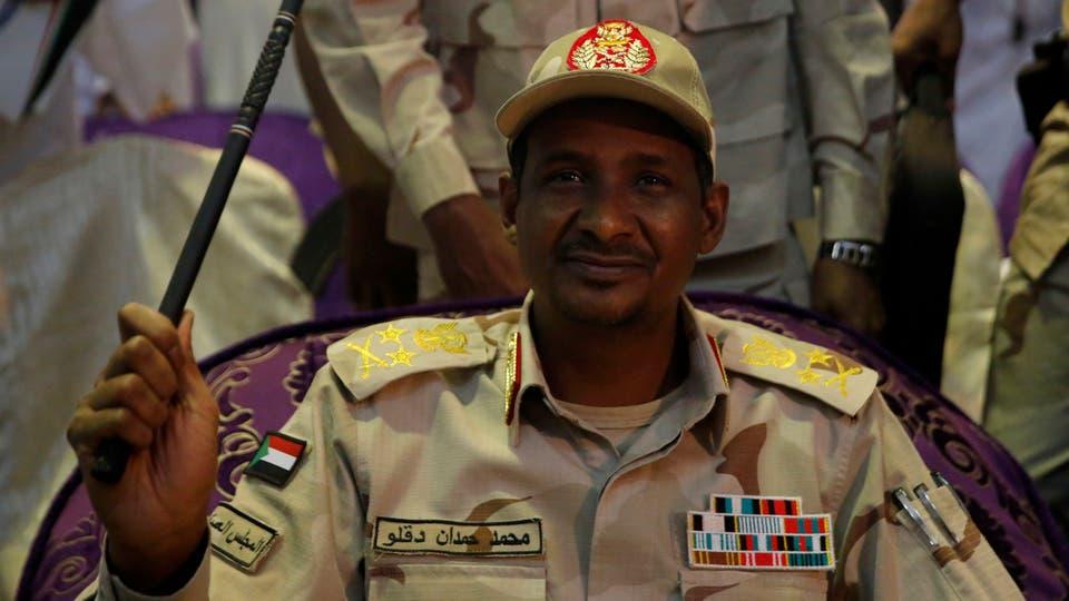 نائب رئيس المجلس العسكري محمد حمدان دجلو المعروف بلقب حميدتي