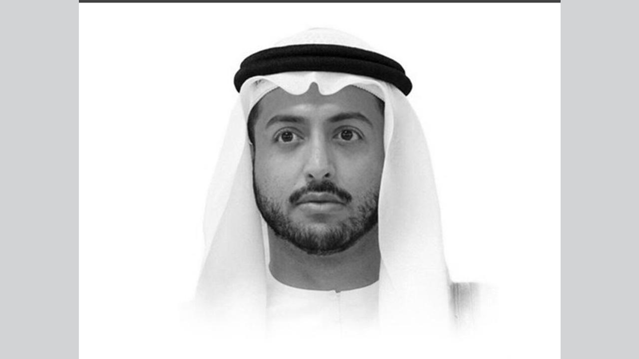 الشيخ الراحل خالد بن سلطان بن محمد القاسمي نجل حاكم الشارقة