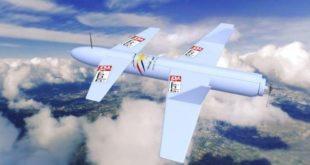 طائرة قاصف 2k التي يمتلكها الحوثيون وقالوا إنهم استهدفوا قاعدة الملك خالد الجوية بها