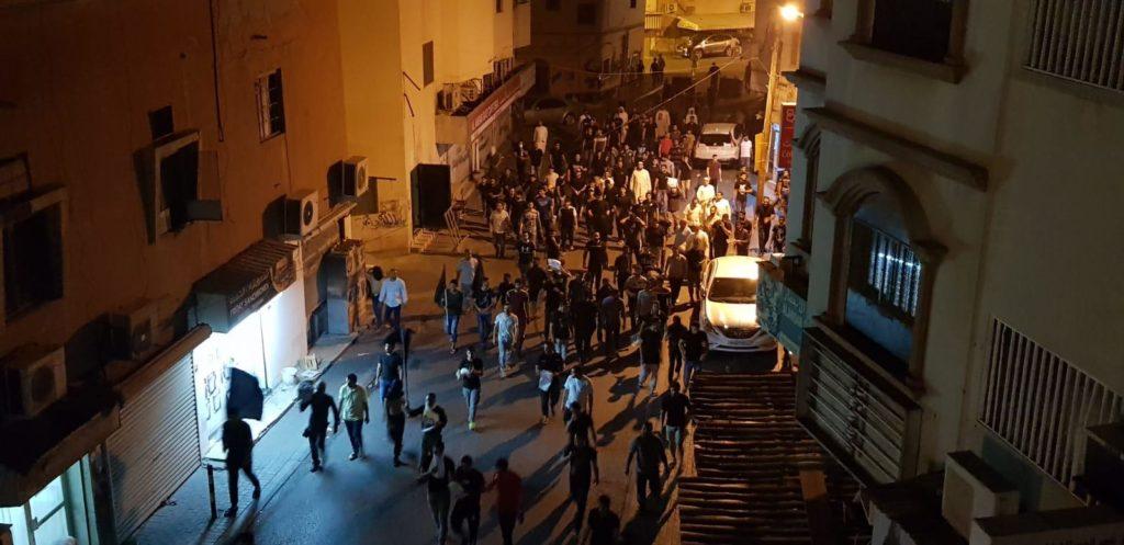 جانب من التظاهرات والمواجهات بين قوات الأمن ومتظاهرين في البحرين