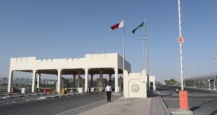 منفذ سلوى الحدودي بين السعودية وقطر